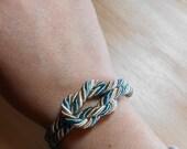 Nautical Sailor's Knot Bracelet -  Love Knot - KNOTICAL KNOTION