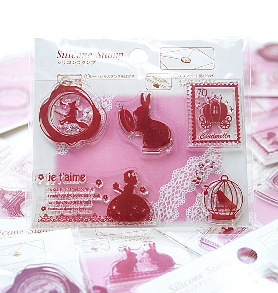 SALE - Clear stamp - Never land