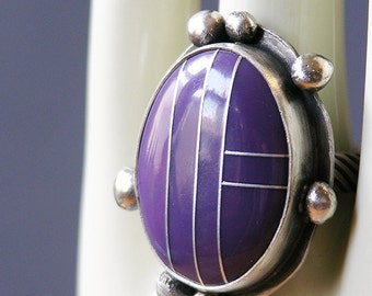 Purple Egg Ring