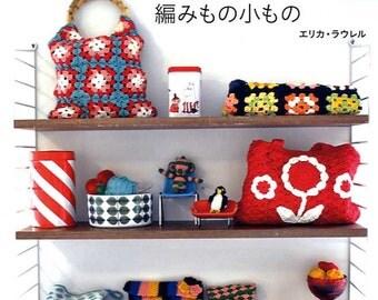 Scandinavian Design Organic Cotton Crochet Goods - japanese craft book