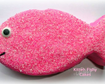 Laineys Kitty Birthday Cakes
