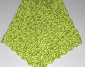 Shades of Lime Green Cowl for Teen / Adult