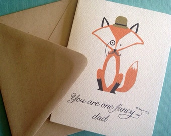 You are one fancy dad- single greeting card