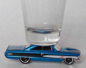 The ORIGINAL Hot Shot, Shot Glass, '64 Custom Ford Galaxie, Classic Hot Rods, Hot Wheels