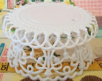 Modern Vintage / Pedestal for Wedding Cake Topper / One Item / DIY Crafting