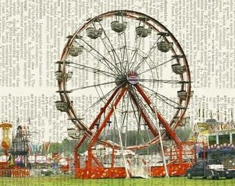 summer at the fair print