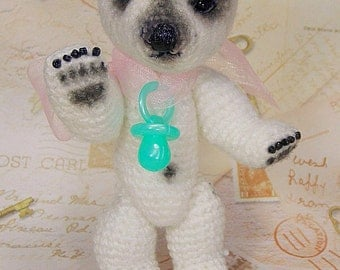 Nanouk, Polar Bear Cub pattern by Chantal Bears
