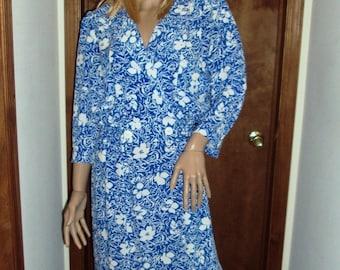 John Richard Dress Floral Secretary Glam Dress Party Day Dress Vintage 1980s Size 11/12