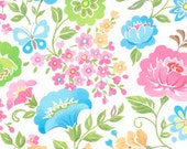 Chinoise by Studio K, white Floral, yard