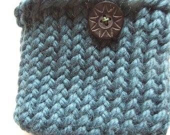 Green Wool  Mini bag