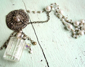 Repurposed Necklace - Moonlight Necklace