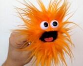 Popcorn Monster - tangerine
