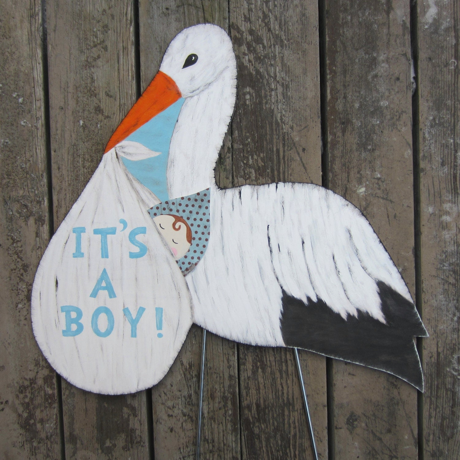 Stork Yard Sign It S A Boy It S A Girl Decoration