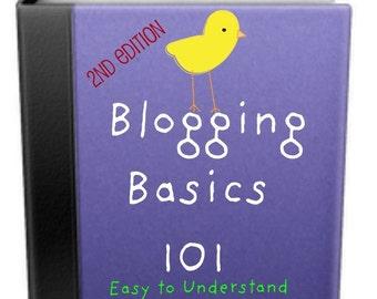 Etsy Shop Marketing Ebook Blog Secrets Revealed Critique Your Blog Tutorial PIF Pay it forward