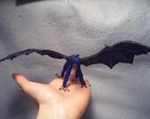 Nienne, OoaK poseable beaded dragon