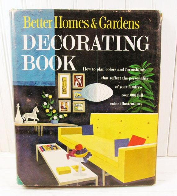 Vintage Better Homes & Gardens Decorating Book Binder 1956