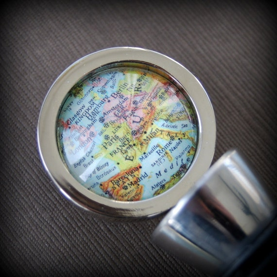 Europe - Wine Bottle Stopper - Vintage Map - Perfect for Winelovers