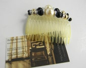 Vintage Hair Combs, set of two