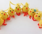 Easter Garland with Chicks
