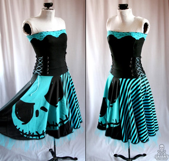 Nightmare Before Christmas pumpkin king corset by ...