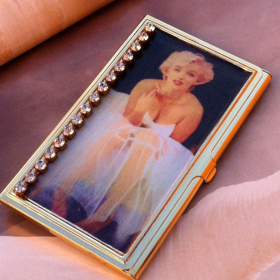 Marilyn Monroe Business Card Holder