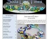 Jan 2013 Soda Lime Times Lampworking Magazine (PDF) - International Issue - by Diane Woodall