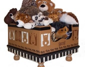 Funny Faces Pet Toy Box by Jakey BB