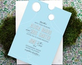 Balloon Love Wedding Invitation