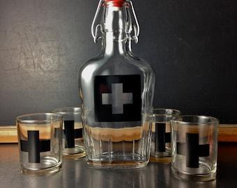 1st Aid Shot Glass Set