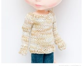 Mixed Beige Sweater for Blythe