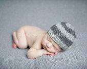 Newborn knit baby boy hats photography prop