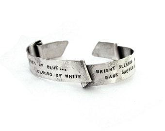 CUSTOM Banner Cuff Bracelet