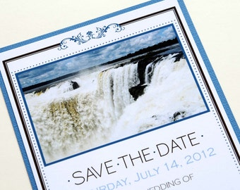Destination Wedding Save the Date - Foz de Iguazu, Argentina