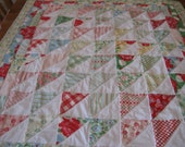 Quilted Spring Picnic Table Cloth