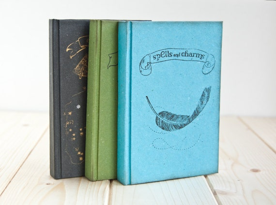 NEW LINE - three magical Notebooks