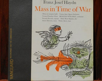 Haydn Mass in Time of War LP Record Album