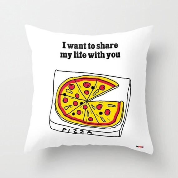 Anniversary gifts for men -Romantic Pillow - Romantic bedding - Boyfriend Gift - Decorative Pillows -couple pillow case - Girlfriend gift