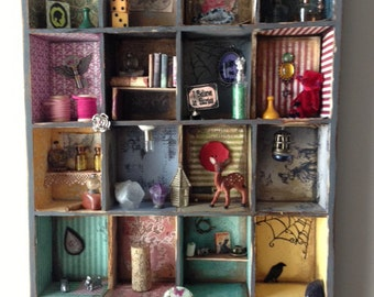 Miniature Curio Box