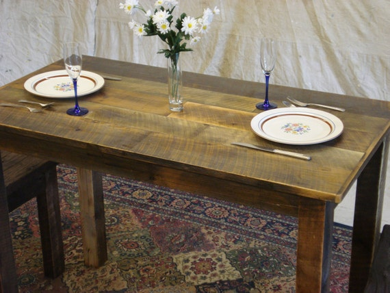 Items similar to farmhouse counter height table 60 x 30 for Farmhouse counter height table