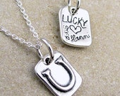 Lucky Horseshoe Necklace - Lucky Charm - Horse Shoe Jewelry
