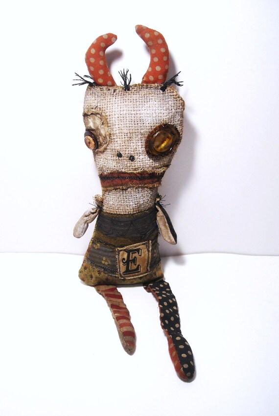 Handmade Art Doll (Monster Evilyn)