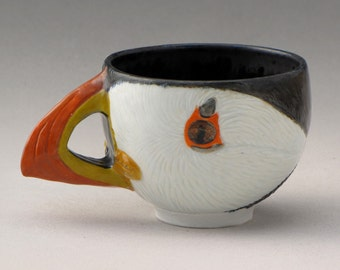 Atlantic Puffin Teacup--3 of 4
