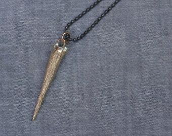 Bronze triggerfish charm necklace