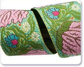 Amy Butler Pink Alchemy Blossom Ribbon, 1 Yard, ON SALE