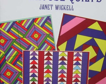 Dollhouse Quilts Pattern Book by Janet Wickell