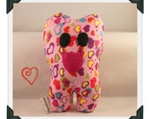 Toothykins the Tooth Fairy Pillow- Pink Hearts