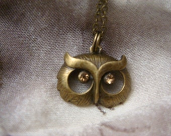 Woodland Owl Necklace