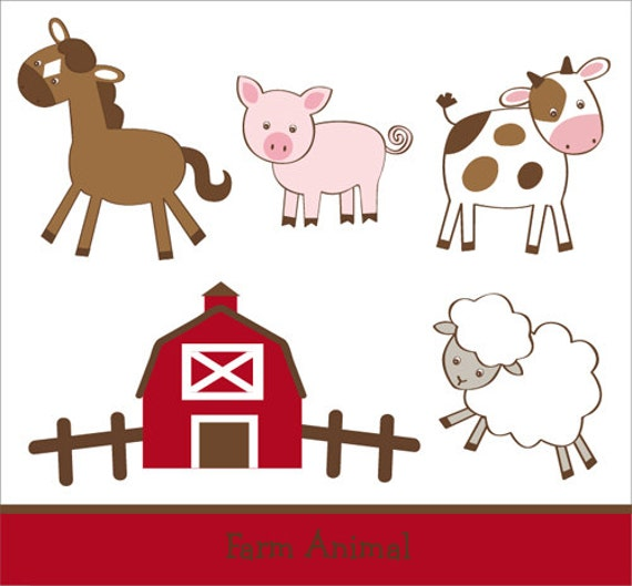 clipart pictures farm animals - photo #46