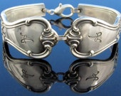 Silver Spoon Bracelet (Small Medium Large) Signature With A Monogram