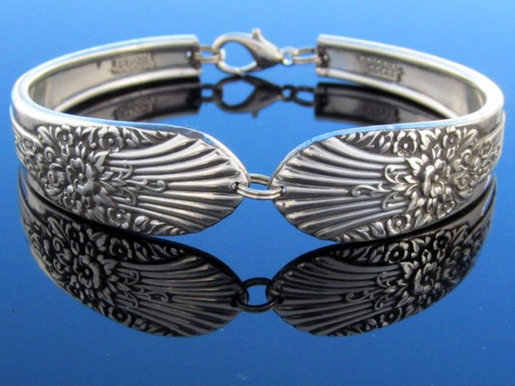 Spoon Bracelet Silver Mist Medium